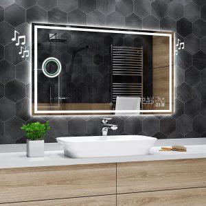 Elliptical Led Bathroom Mirror Dallas Alasta Shop