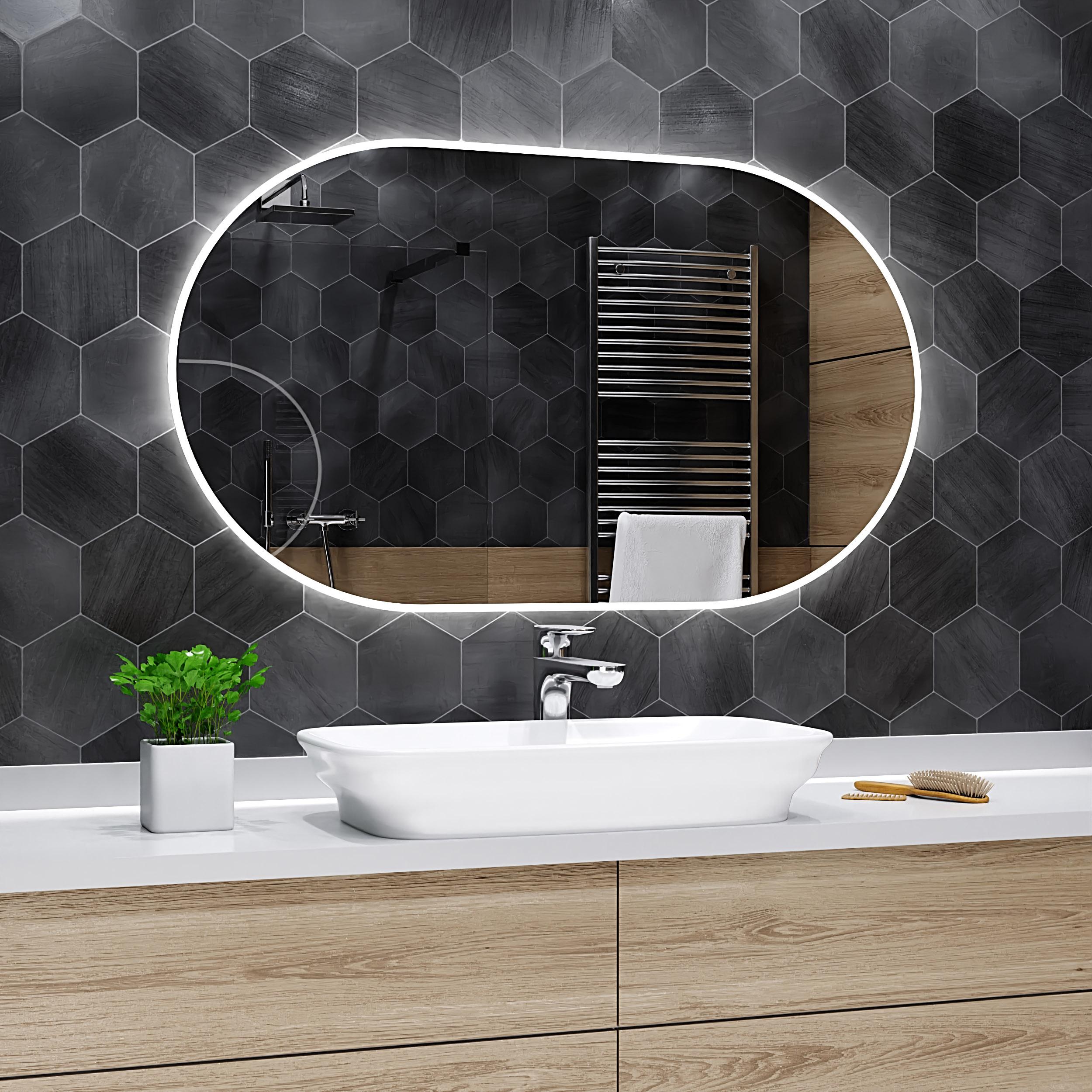 Led Bathroom Mirror Hamburg, Bathroom Mirrors Ikea Australia