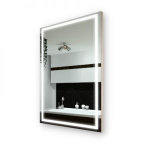 LED Mirror with Cover
